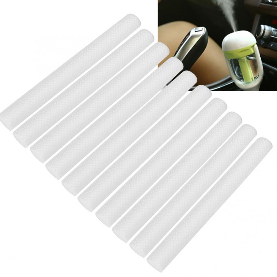 10pcs Soft Replacement Filter Eco-Friendly Filter Cotton Stick Accessory for USB Humidifier Face Skin Care Tools