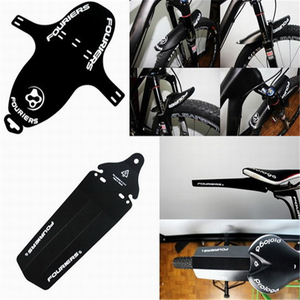 Fouriers bike bicycle Front Fork Fenders Rear Saddle Fende MTB Mudguard PP