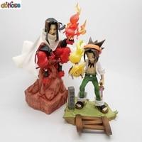 ARTFX J Anime Shaman King Figure Yoh Asakura And Hao 1/8 Scale PVC Action Figures Collection Model Toys Doll Gift