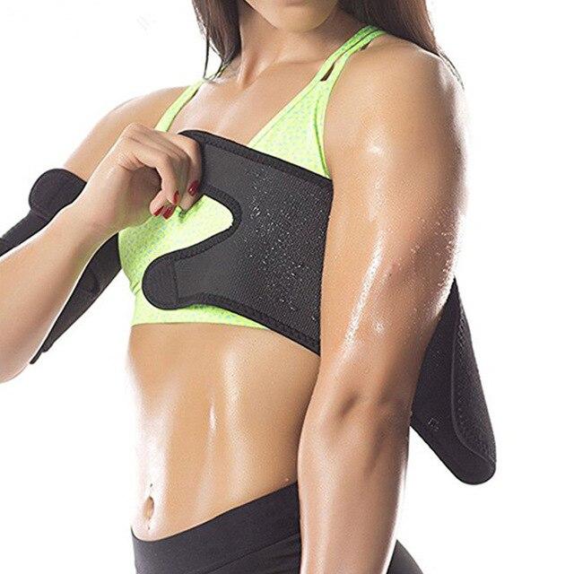 Arm Trimmer Sweat Sauna Belt Shaper Fat Burners Body Slimmer Cincher Trainer 1 Pair BHD2 2