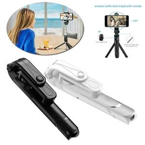 Image 1 - Bluetooth selfie מקל עם חצובה פלסטיק סגסוגת עצמי מקל selfiestick טלפון smartphone selfie מקל עבור iphone סמסונג huawei