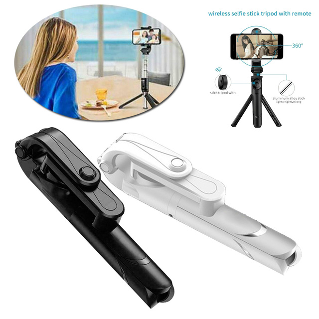Bluetooth selfie מקל עם חצובה פלסטיק סגסוגת עצמי מקל selfiestick טלפון smartphone selfie מקל עבור iphone סמסונג huawei