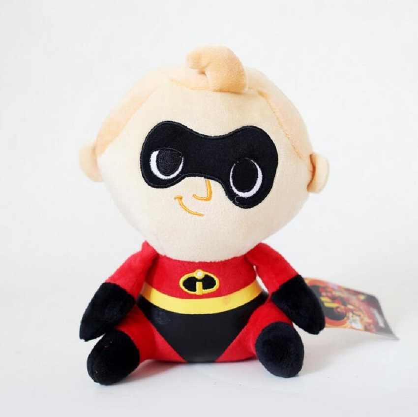 1 шт. 20 см Суперсемейка 2 плюшевые куклы мистер Супер семья Боб Хелен Джек мягкие игрушки для детей автомобиль кулон украшения
