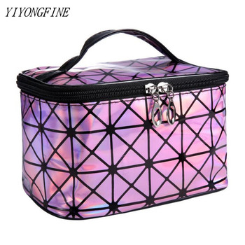 YIYONGFINE Multifunction Cosmetic Travel Bag Makeup Bags For Women Waterproof Toiletry Organizer Female Storage Makeup Cases 1