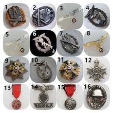 BADGE de médaille allemande, réplique de l'insigne de collection