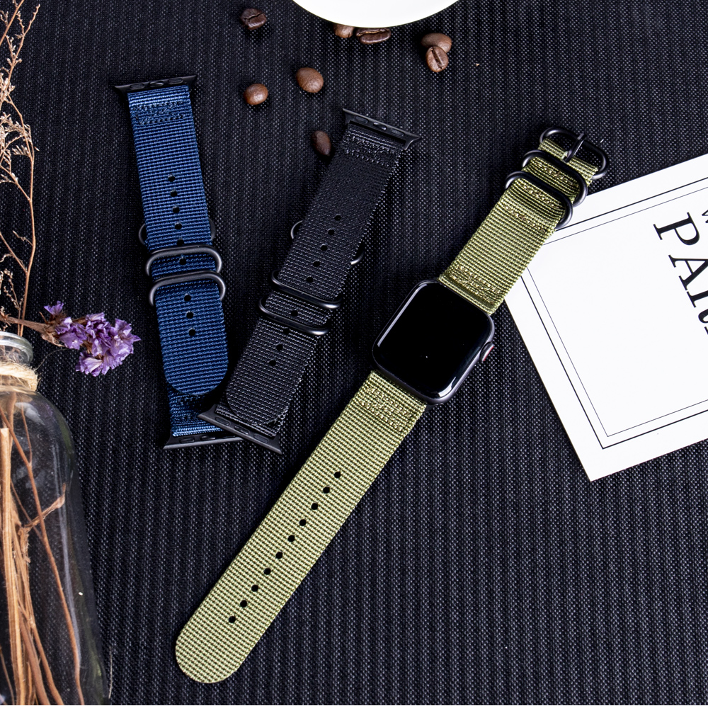 Nylon Fabric Band for Apple Watch 13