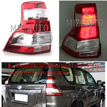 For LAND CRUISER PRADO LC150 GRJ150 TRJ150 2013 2014 2015 2016 Rear Tail Light Brake Light Rear Bumper Light Tail Stop Lamp