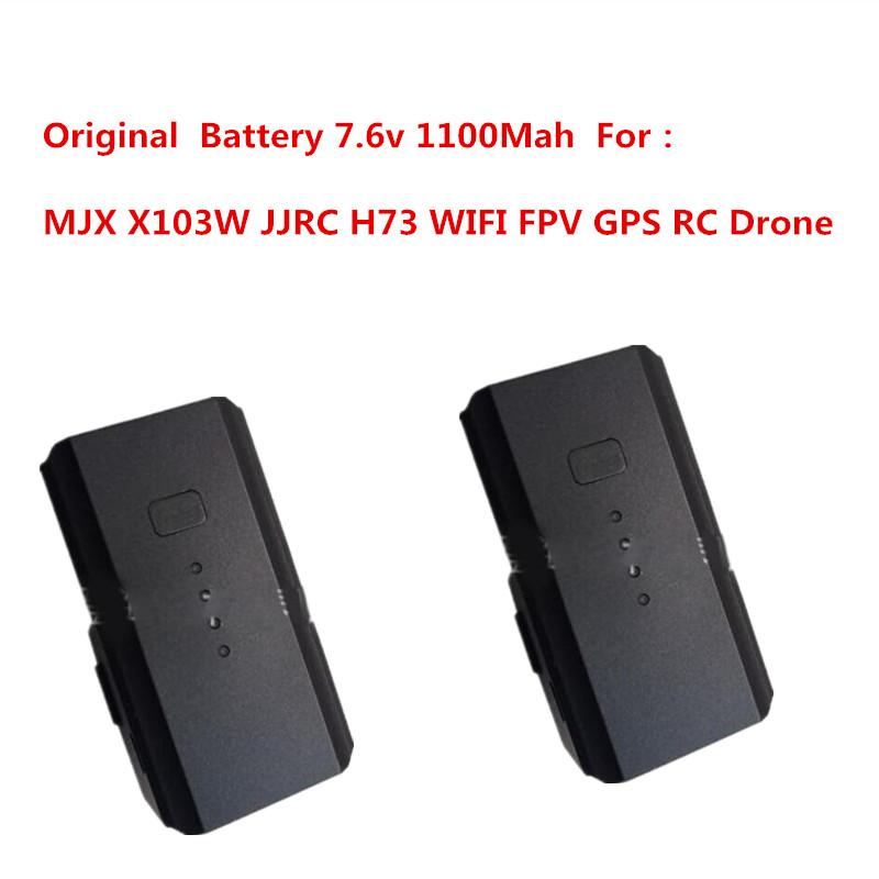 MJX X103W JJRC H73 Drone 7.6v 1100Mah Battery Accessories Suitable For MJX X103W JJRC H73 Quadcopter GPS RC Drone Battery Spare