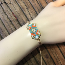 Rttooas Women Fashion Bracelet 2019 Boho MIYUKI Beads Pulseras Mujer Handmade Jewelry Accessories Gifts
