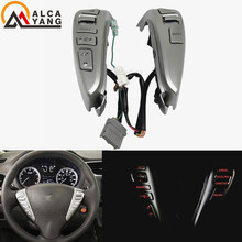 STEERING WHEEL CRUISE CONTROL BLUETOOTH SWITCHES for NISSAN TIIDA SENTRA SUNNY Livina ALMERA CUBE VERSA NOTE