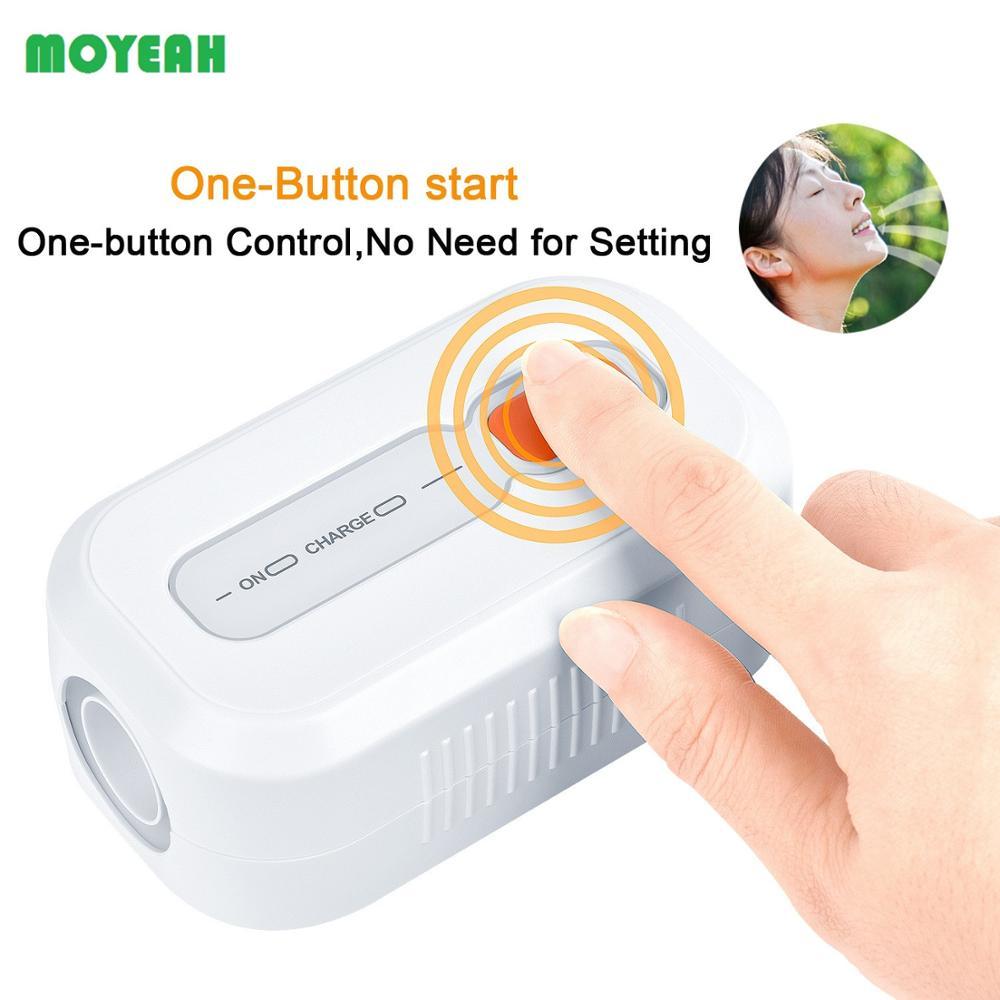 MOYEAH CPAP środek czyszczący i dezynfekujący sterylizator ozonu do maski Tube CPAP APAP BiPAP maszyna bezdech senny przeciw chrapaniu