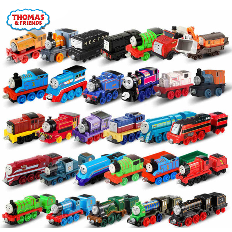 Original Strackmaster 1:43 Train Model Car Kids Toys For Children Diecast Brinquedos Education Birthday Gift