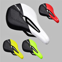 Carbon+Leather Bicycle Seat Saddle MTB Road Bike Saddles Mountain Bike Racing Saddle PU Ultralight Breathable Soft Seat Cushion