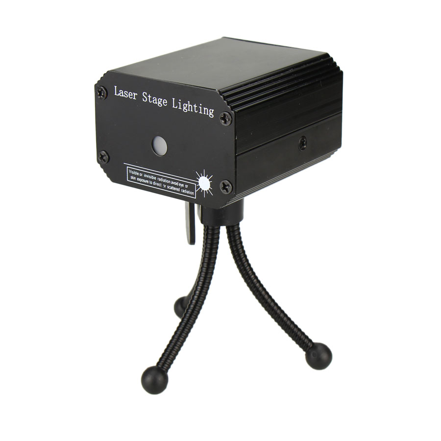 ESHINY MINI Small R&G Laser Full stars Projector DJ Dance Disco Bar Family Party Xmas Effect Stage Effect Light Show Y10 5