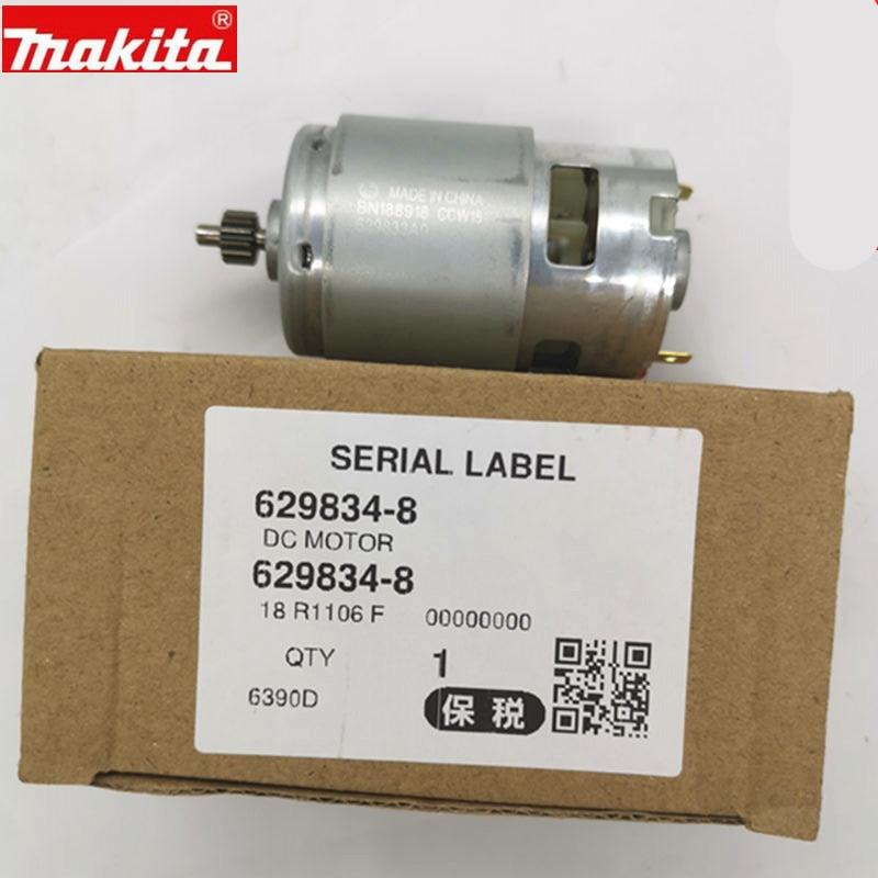 Makita 629834-8 629937-8 18V MOTOR For HP457D DF457D BDF453 DDF453 DDF453RFE DHP453 BHP453 8390D 8391D 6390D 6391D DF457DWE