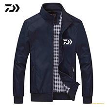 Новая мужская одежда для рыбалки DAIWA Спортивная одежда на молнии быстросохнущая дышащая одежда для рыбалки для пеших прогулок Летние Осенние рубашки для рыбалки