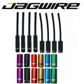 Jagwire MTB горный велосипед, горный, дорожный велосипед, сплав, алюминий, 5 мм, тормозной кабель, корпус, наконечник трубки, крышка 4,5 мм, переключа...