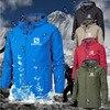 New Spring Jacket Men Hooded Zipper Waterproof Coat Windproof Solid Color Fashion Male Coat Outdoor Sportswear Bomber Coats 5XL