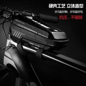 Сумка для горного велосипеда Wild Man, передняя сумка для горного велосипеда, водонепроницаемая сумка, сумка для езды с пересекающимися краями