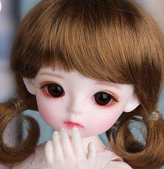 Pełny zestaw najwyższej jakości 1/6 lalki BJD krem Marshmallow Cute Baby najlepszy prezent dla dziewczyny zabawki dla dzieci manekina Model