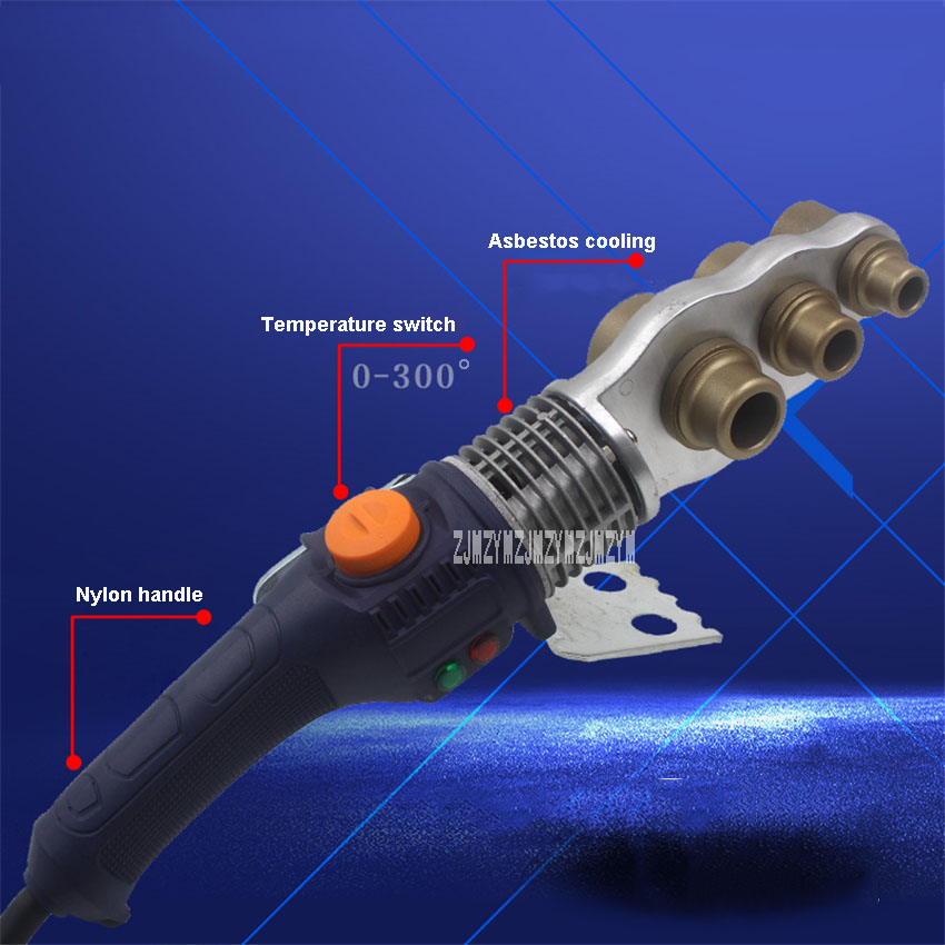 Tools : 20-32 Manual Thermostat Fuser Tube Pipe Welding Machine PPR PE Pipe Heating Plastic Welding Machine 220V 900W 20MM 25MM 32MM