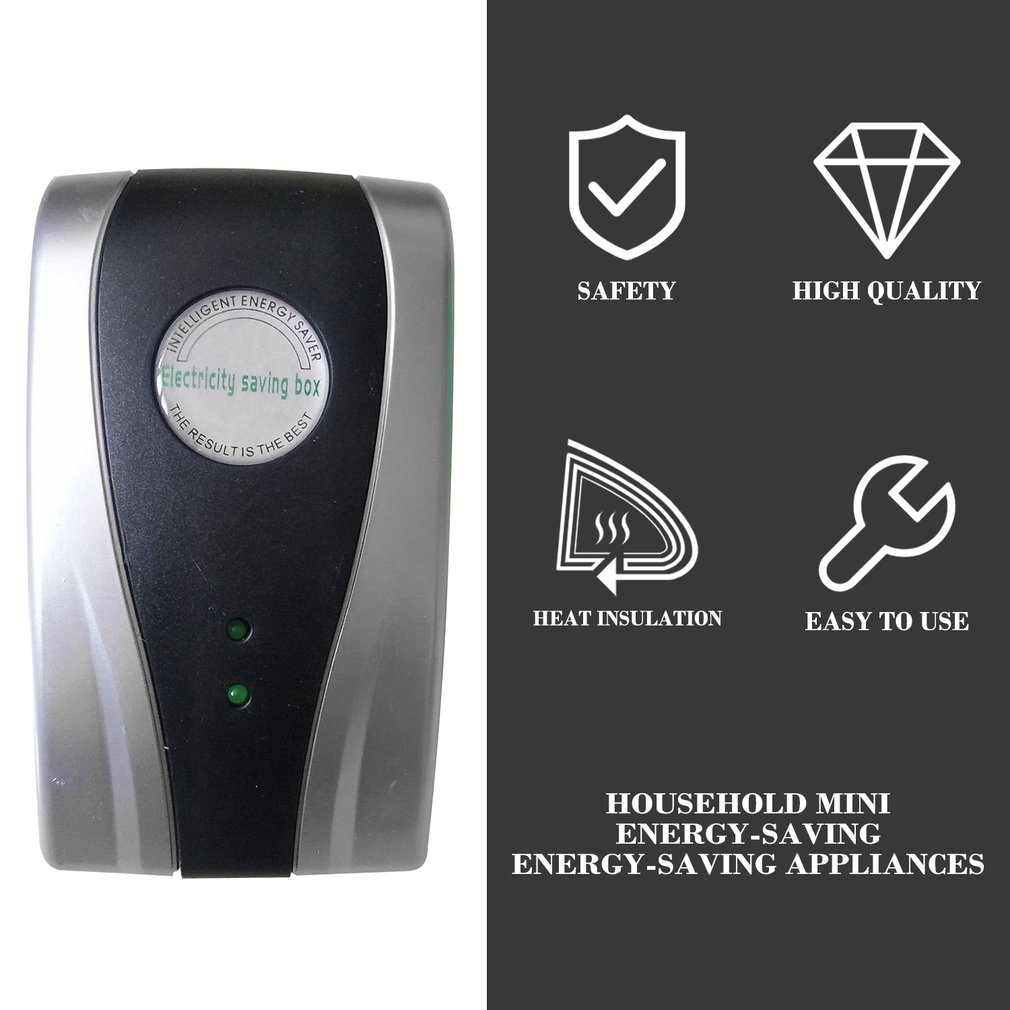 Household Mini Power Saver Energy Saving Power Saver Power Saving Power Saver Slow Walking Meter Stable Voltage