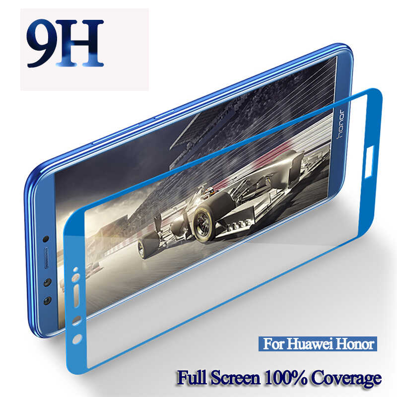 Protective Glass Cover Case On The For Huawei Honor 9 Lite For Honer 10 Light Honor9  9lite 9i 10i 20i Full Glue Tempered Case