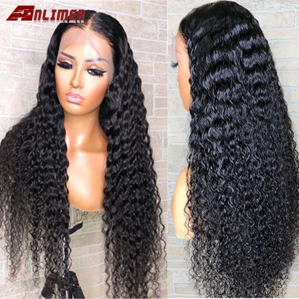 Water Wave Wig Lace Front Human Hair Wigs Pre Plucked Malaysian Lace Frontal Wig 13x6 Brazilian Wet And Wavy Lace Front Wig