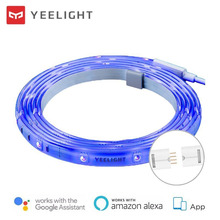 Yeelight 接続されたLEDストリップライト,EU/US,RGBカラー,拡張可能なストラップ,アプリケーションによる制御,国際版