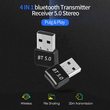 Bluetooth adaptery odbiorniki nadajniki biurowe opiekuńczy Dongle bezprzewodowa muzyka USB materiały komputerowe na głośnik do komputera tanie i dobre opinie ALLOYSEED Bluetooth v1 1
