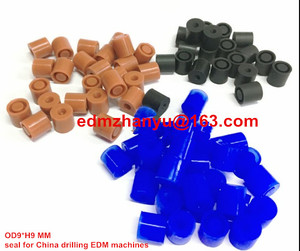 rubber seal for China drilling EDM machines airbnb BAOMA JINMA OD9*H9 MM 0.1-6.0MM(China)