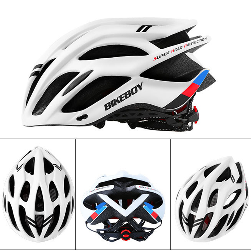 Mua 2020 New Bicycle Helmet Mens Super Light Rugged Cycling Helmet Womens 225g EPS Disassembly Lined Helmet for Mountain Bike