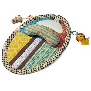 Image 5 - OLOEY תינוק חדר כושר Playmat צבעוני ילדים עמיד למים מחצלת גובה לשחק שמיכת משחק שטיח מוקדם ללמוד פעילות מחצלת מראה כרית בובה
