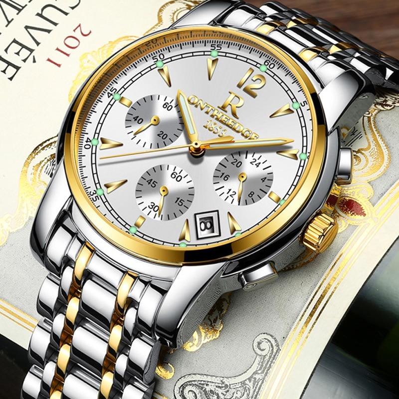 Купить часы наручные мужские кварцевые многофункциональные брендовые