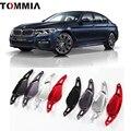 Tommia 2 шт. рулевое колесо алюминиевый сдвиг весло переключения расширение для BMW 5 серии 540LI 530LI 2018 автомобильный Стайлинг