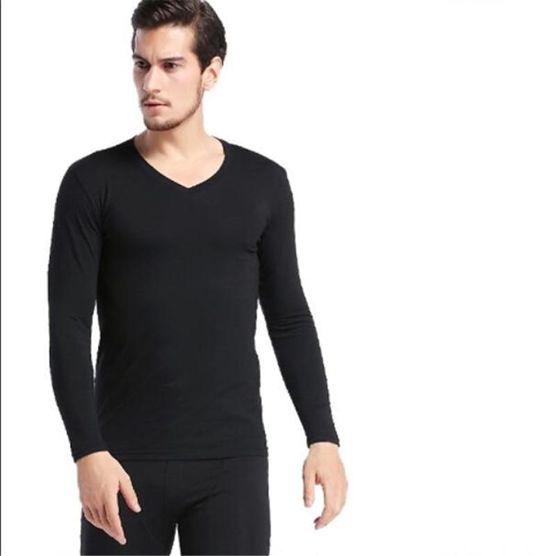 Men Thermal Underwear Set For Men Modal Fibre Winter Long Johns Keep Warm Suit Inner Wear Male Merino Clothing Thermo Plus Size