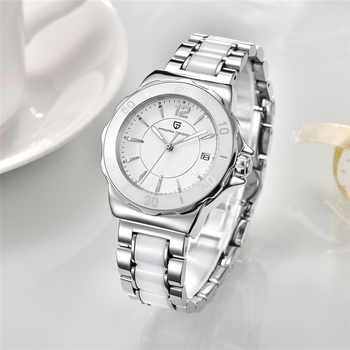 Pagani Design Luxury Brand Women Watches 2020 New Fashion Creative Ladies Quartz Watch Femme Ceramic Bracelet Watches For Womens