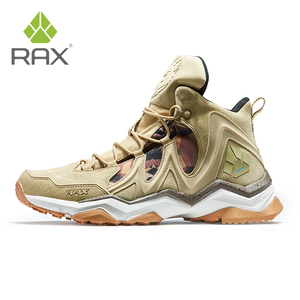 Image 2 - RAX الرجال حذاء للسير مسافات طويلة الشتاء مقاوم للماء في الهواء الطلق حذاء رياضة الرجال الجلود الرحلات الأحذية درب التخييم تسلق الصيد أحذية رياضية النساء