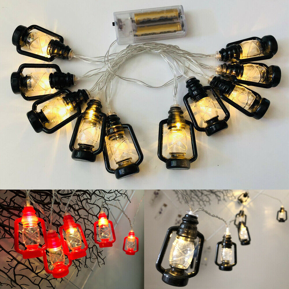 10 LED Ramadan And Decorations Fairy Lights Islam Lights String Lantern
