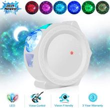 Starry Sky Projector Star Night Light Projection 6 Colors Ocean Waving Lights 360 Degree Rotation Night Lighting Lamp for Kids cheap ZINUO Atmosphere Night Lights LED Bulbs Touch 4 5V Holiday 0-5W ROHS night light Projector bedroom decoration sky light