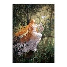 Набор для рисования по номерам elven queen акриловая краска