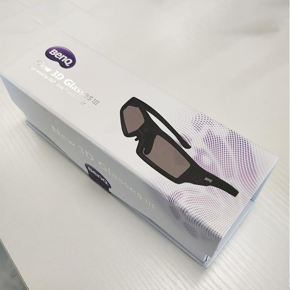 Оригинальное затвор 3D стекло es DLP-Link жидкий кристалл перезаряжаемое Виртуальная реальность ЖК-стекло для проектора BenQ