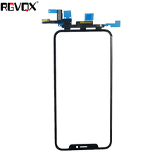 New (All IOS-enabled) Touch Screen Glass Panel FOR Apple FOR IPhone X Replacement Front Glass стоимость