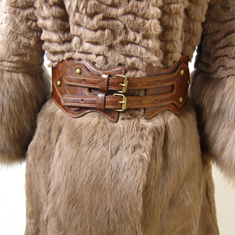 Plus Size Belt Wide Corset Belts For Women 2020 Horse Leather Ceinture Femme Designer Belts High Quality Big Luxury Cummerbunds