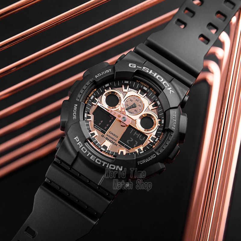 שעון יוקרה גברים שעונים קאסיו g יוקרה למעלה סט הכרונוגרף צבאי LED שעון דיגיטלי ספורט קוורץ עמיד למים שעון גברים relogio