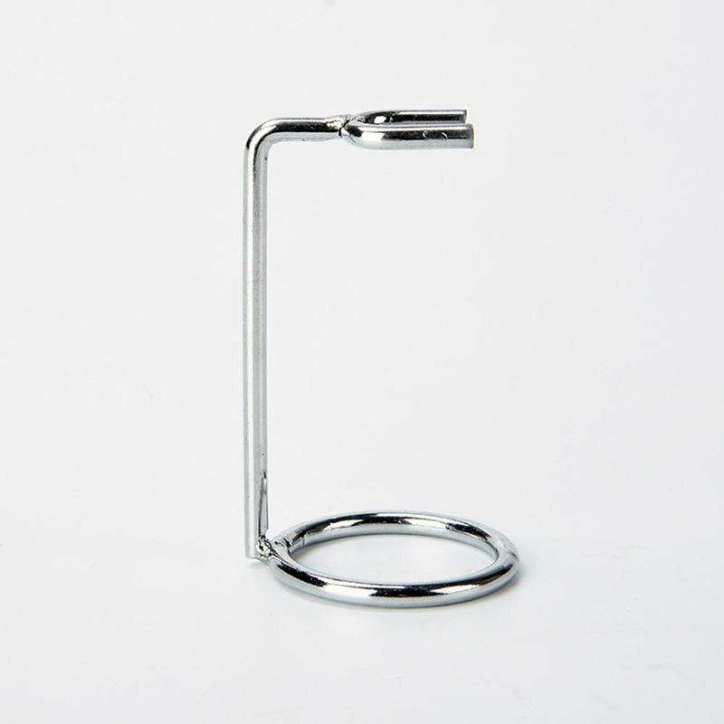 Men Stainless Steel Safety Razor Stand Double Edge Razor Art Metal Holder Shaver Accessories Z-frame Support