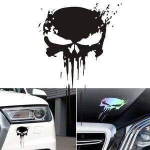 Car Accessories Skull Car Stic