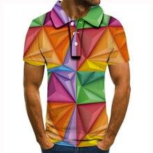 Новинка 2020 рубашка поло для мужчин популярная мужская футболка