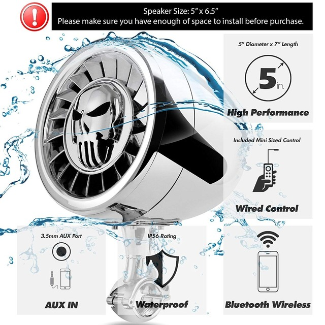 Bluetooth Waterproof Speaker System  2
