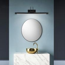 Mirror Light  Modern Led Wall Lamp 8W AC90-260V Wall Mounted Industrial Wall Lamp Bathroom Light Waterproof Stainless Steel